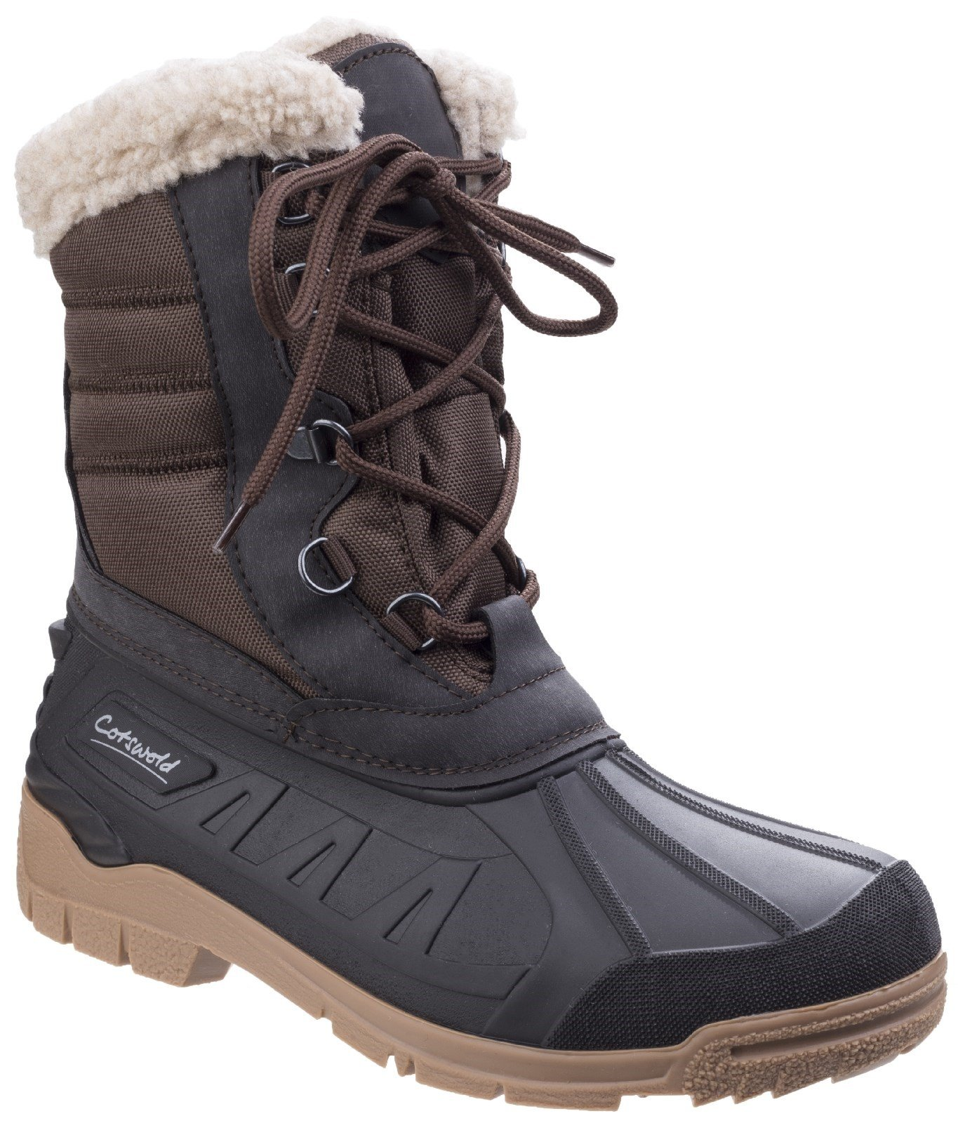 Cotswold Women's Coset Weather Boot Brown 25538 - Brown 3