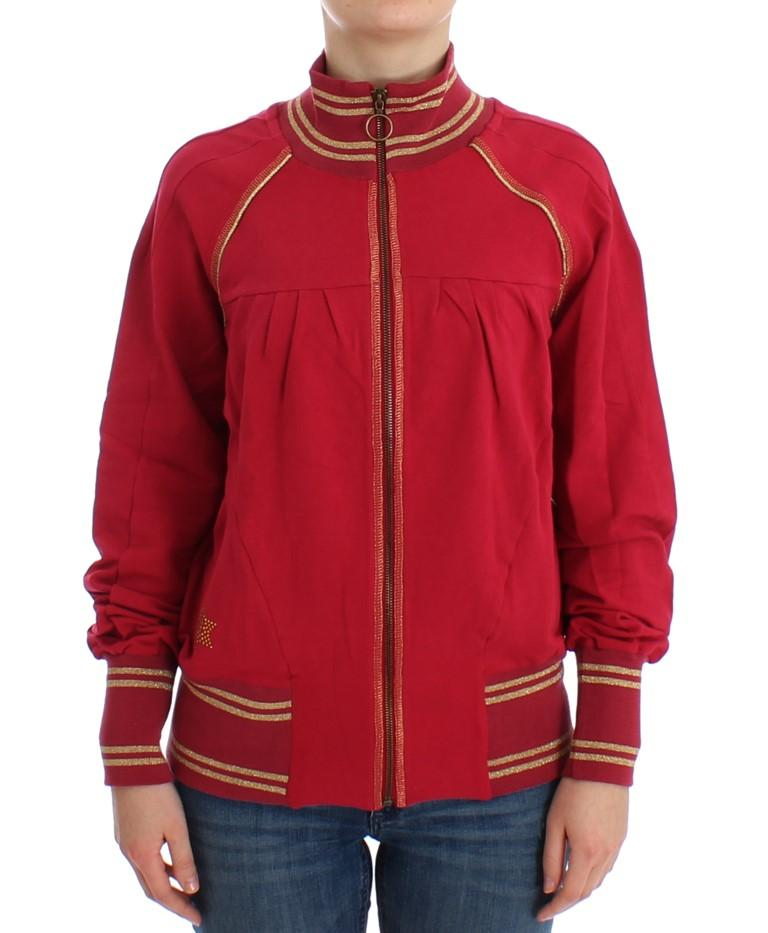 John Galliano Women's Mock Zip Sweater Pink SIG12526 - XXS