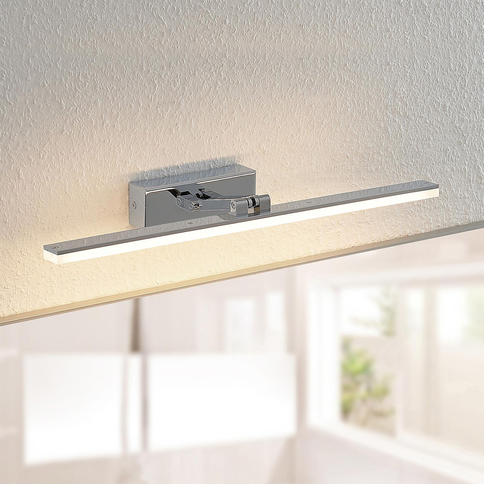 Arcchio Soey -LED-peililamppu, IP44, 53 cm