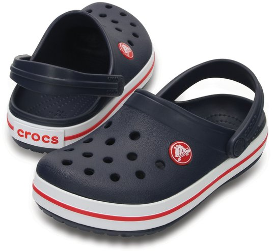 Crocs Crocband Clog, Navy/Red 29-30
