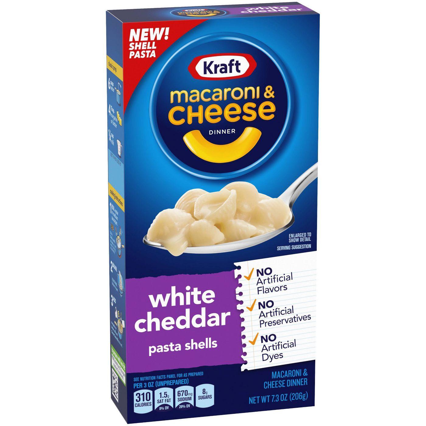 Kraft Macaroni & Cheese White Cheddar 207g