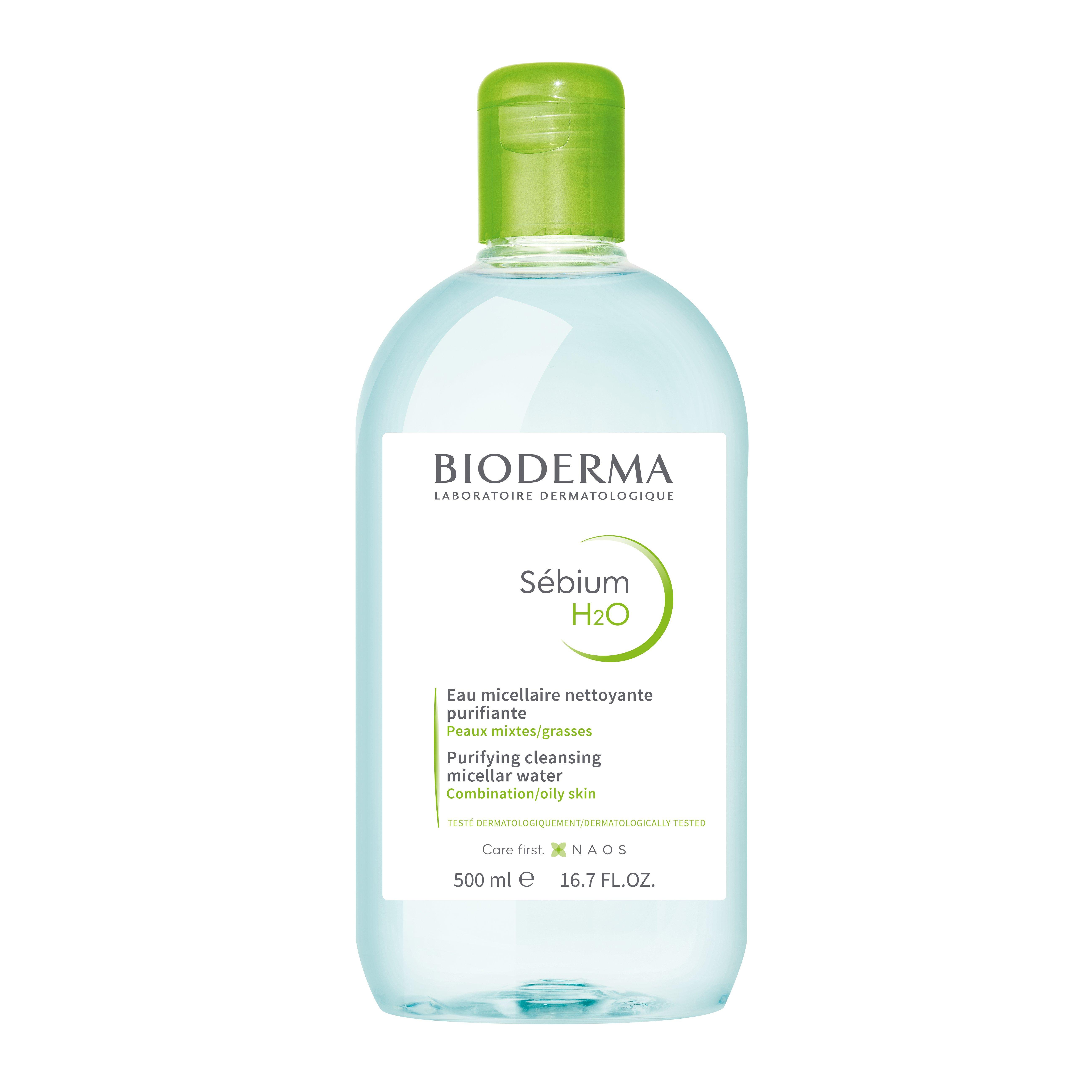 Bioderma - Sebium H2O Purifying Cleansing Micellar Solution 500ml