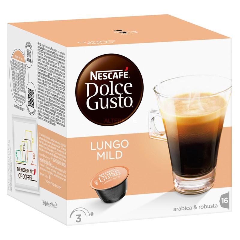 "Kaffekapslar ""Lungo Mild"" 16st - 46% rabatt"