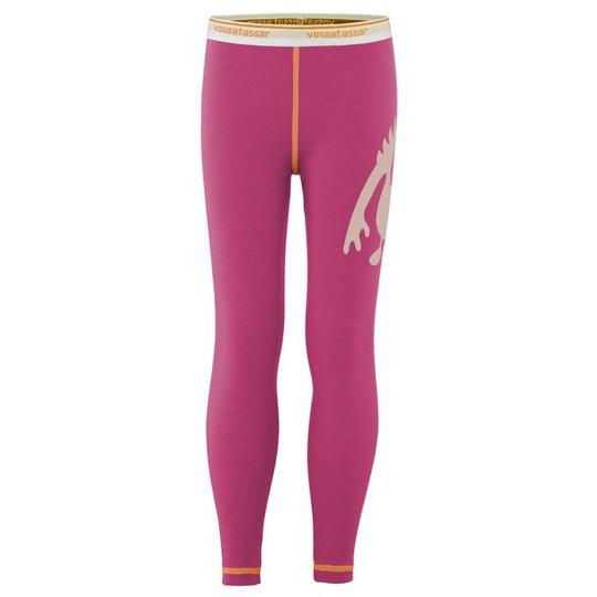 Vossatassar Monsterull Solid Bukse, Light Pink 90