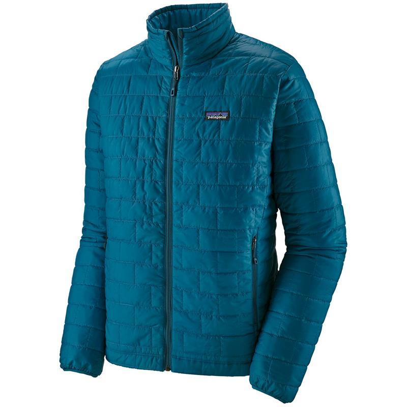 Patagonia Nano Puff Jacket L Foret jakke, herre, Crater Blue