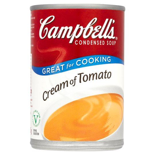 Campbells Condensed Soup Cream of Tomato 295g