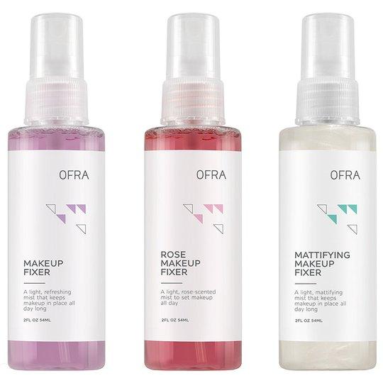All Set Mini Makeup Fixer Trio, 177 g OFRA Cosmetics Meikinkiinnityssuihke