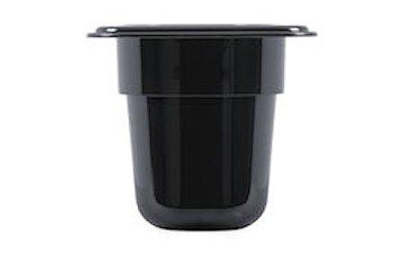 GN matoppbevaring 1/9-100 Svart