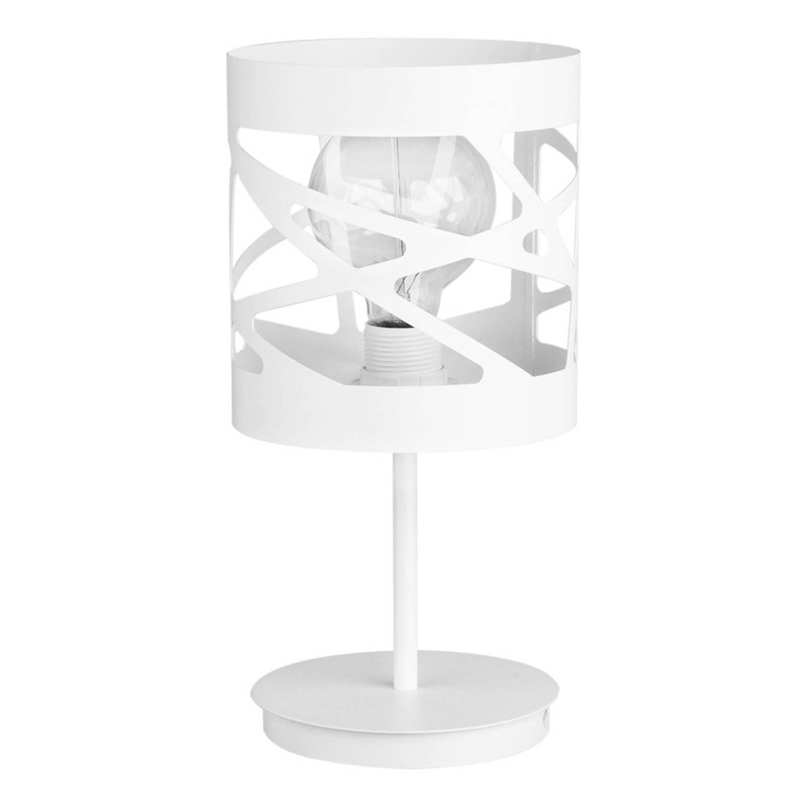 Pöytälamppu Modul Frez, kuviovarjostin Ø 17,5 cm