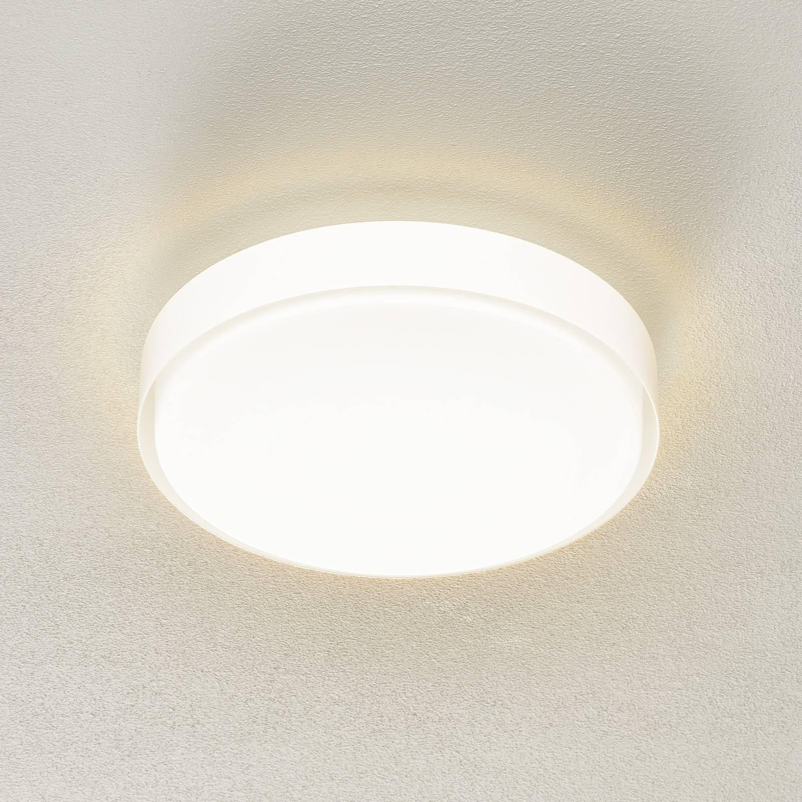 BEGA 34278 LED-taklampe hvit, Ø 36 cm, DALI