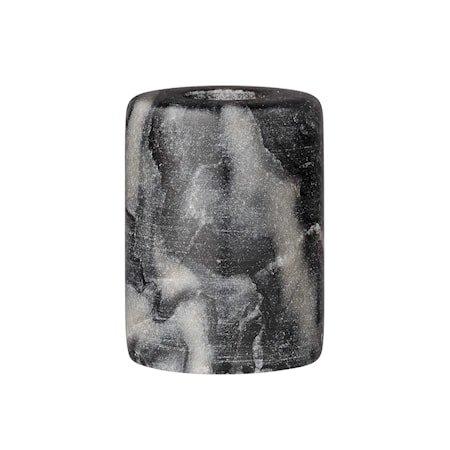 Lysestake Grå Marmor 6x8 cm
