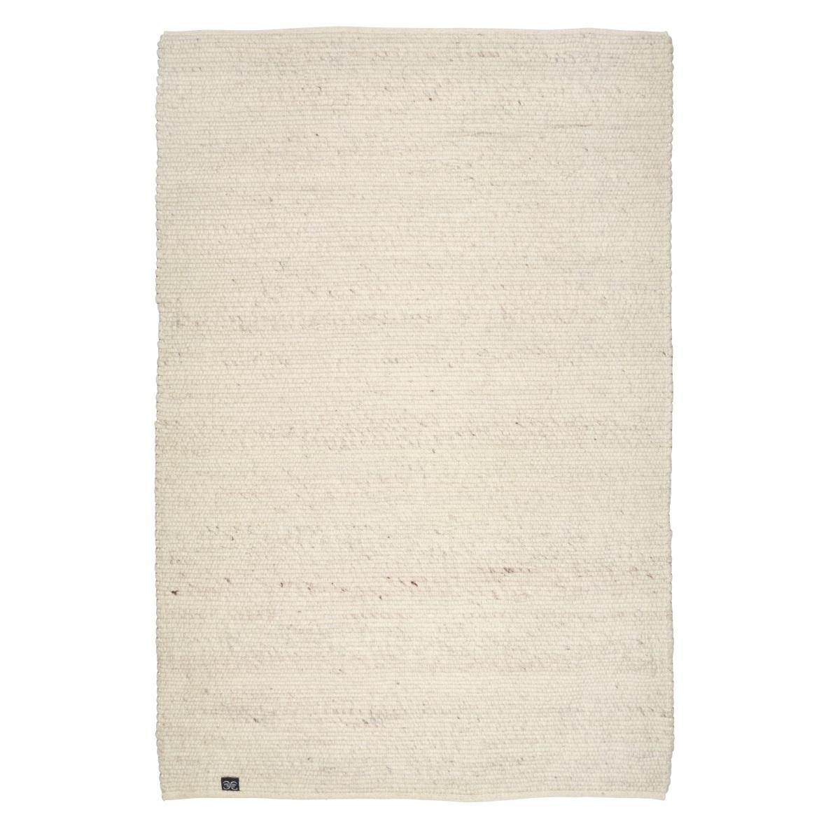 Ullmatta Merino vit 170 x 230 cm Classic Collection