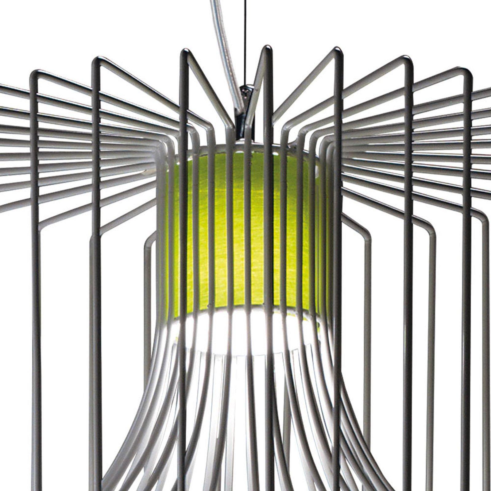 Modo Luce Icaro stoff innvendig skjerm salviegrønn