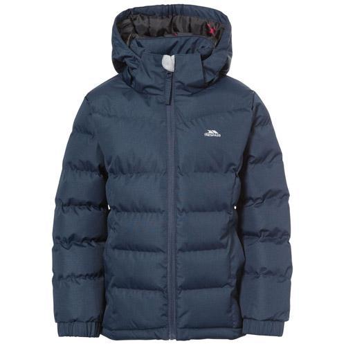 Trespass Kid's Padded School Jacket Various Colours Marey - Navy 3 to 4 Years