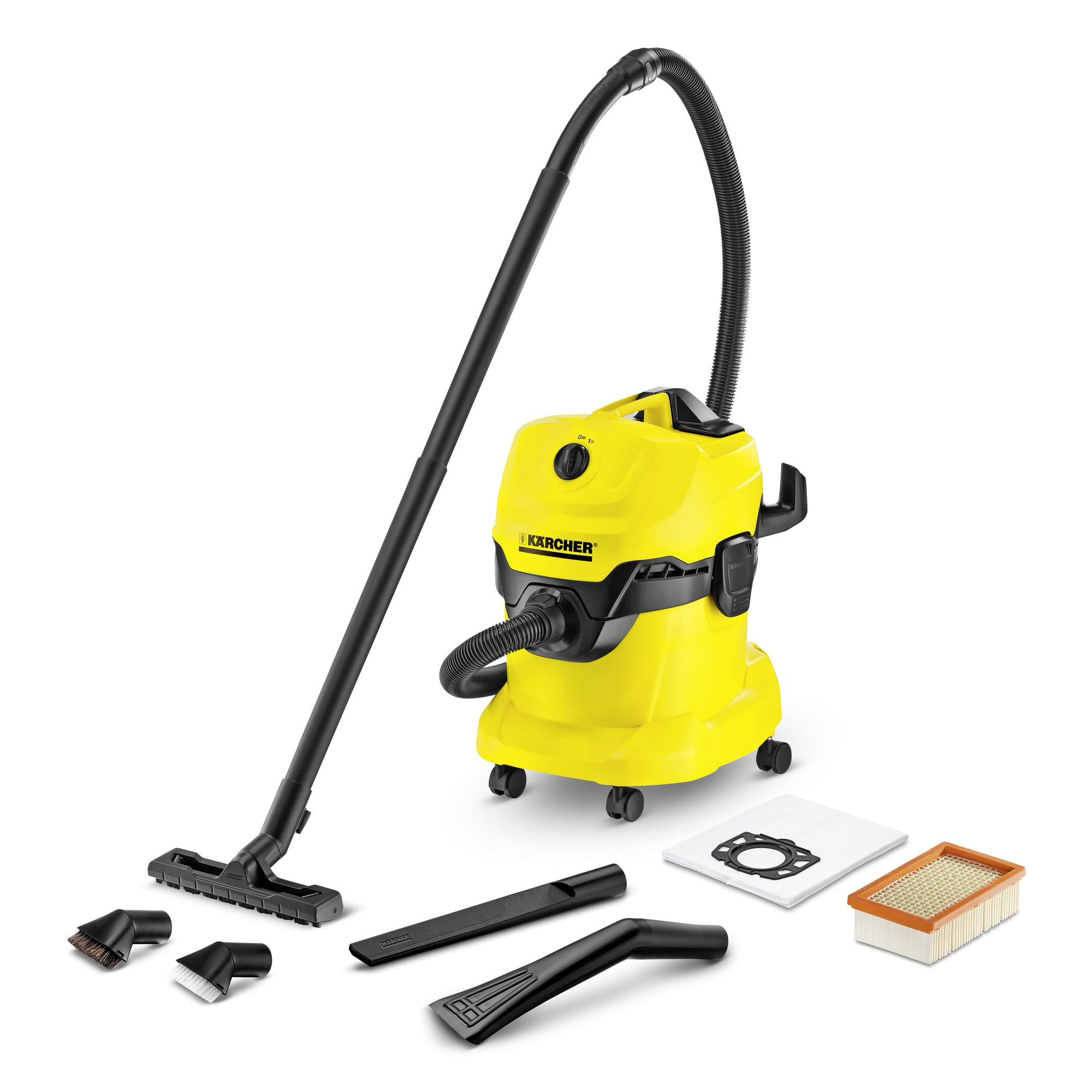 Kärcher - WD 4 Car Multi-Purpose Vacuum Cleaner 20L