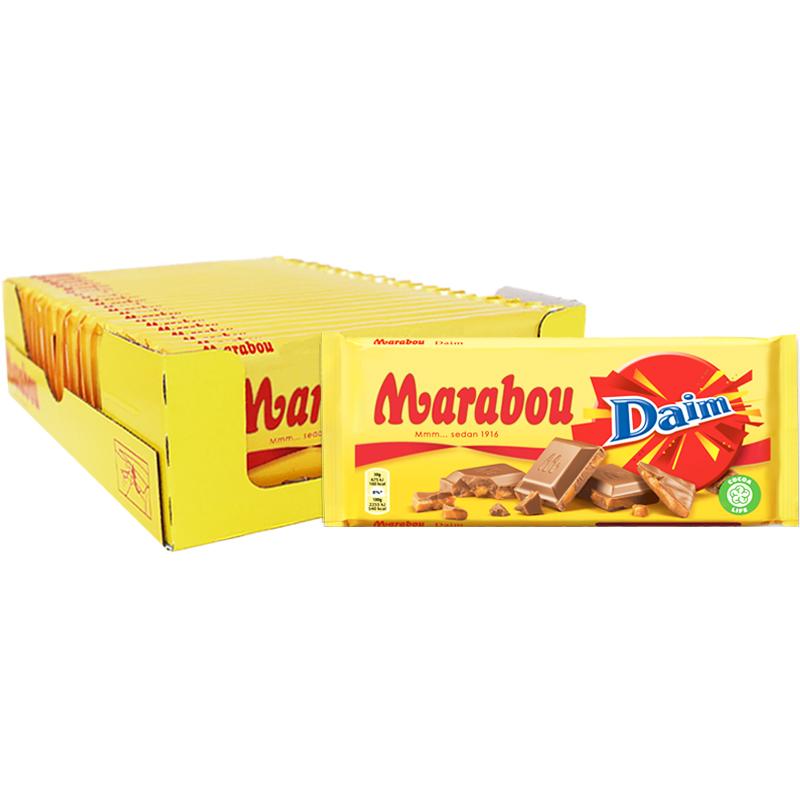 Hel Låda Chokladkakor Daim - 26% rabatt