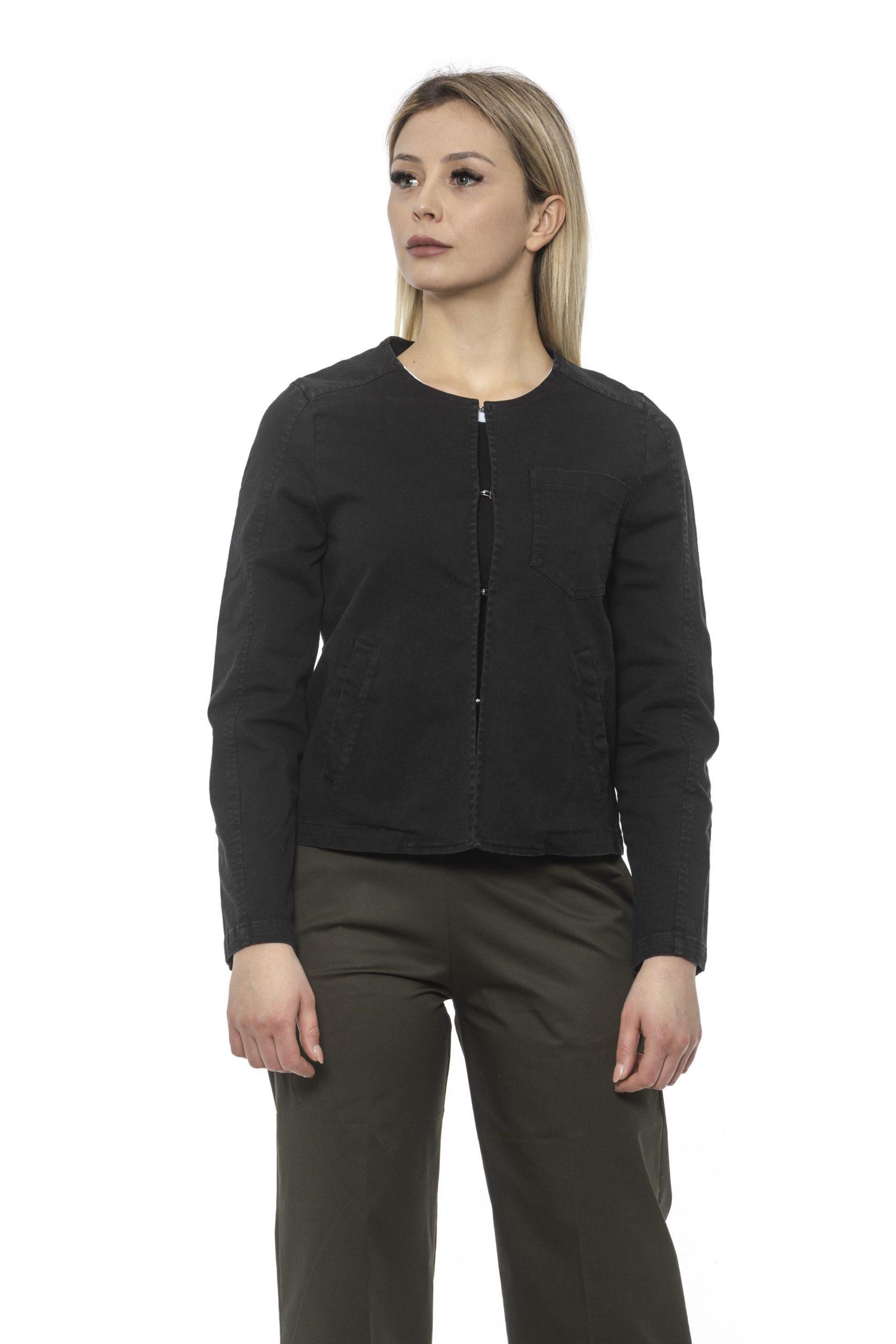 Alpha Studio Women's Nero Blazer Black AL1374810 - IT40   XS