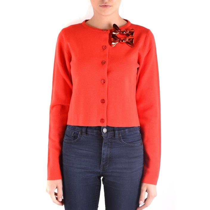Boutique Moschino Women's Cardigan Red 162253 - red 48