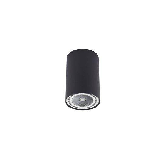 Takspot Bit i sylinderform svart