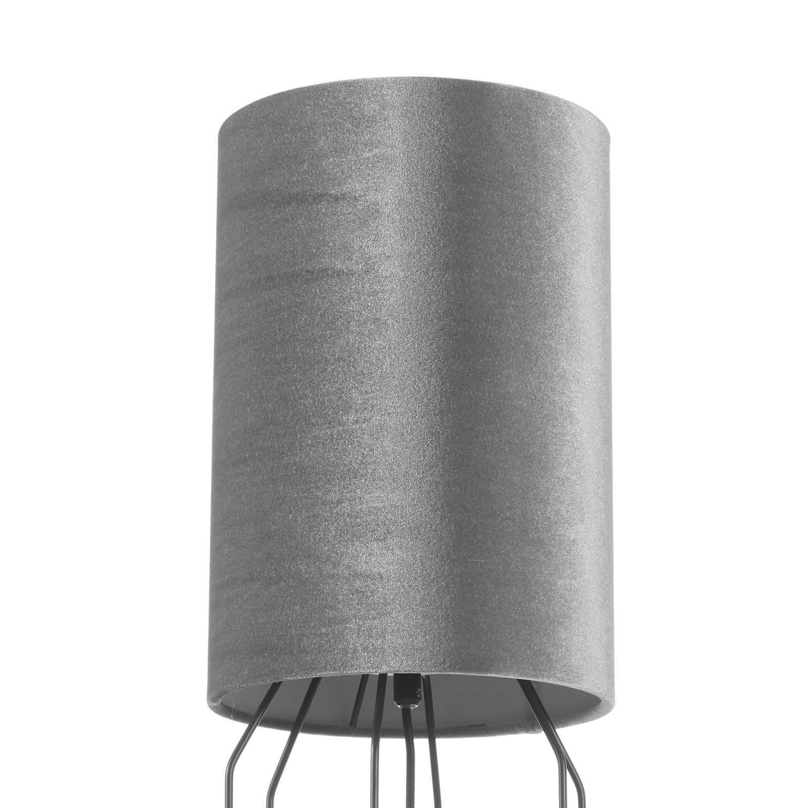 Schöner Wohnen Grace gulvlampe, sølv