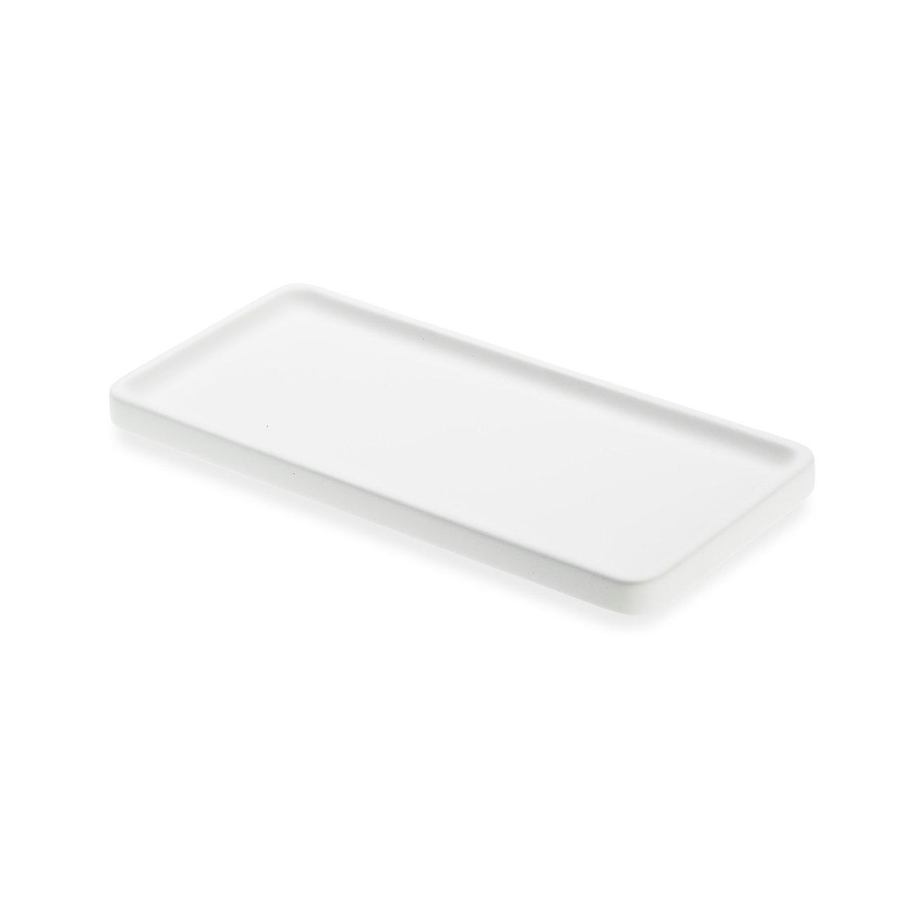 LIKEconcrete - Karin Tray X Small 20 x 10 x 2 cm - White (93760)