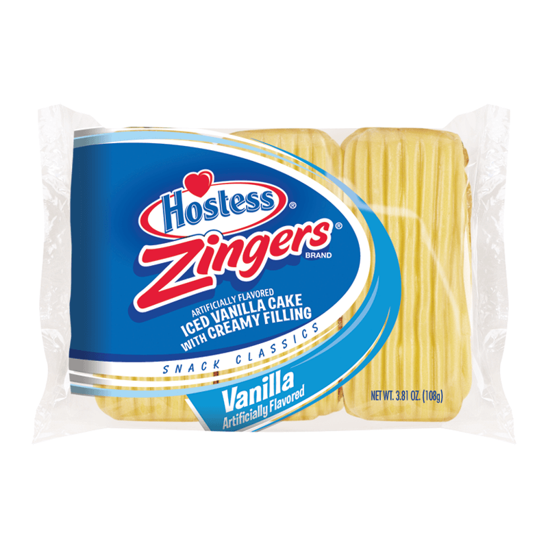 Hostess Zingers Vanilla 3-pack 108g