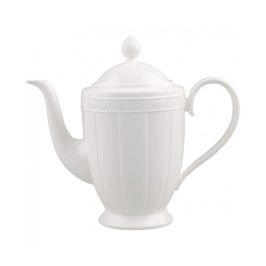 Villeroy & Boch White Pearl Kaffekanne 1,35L