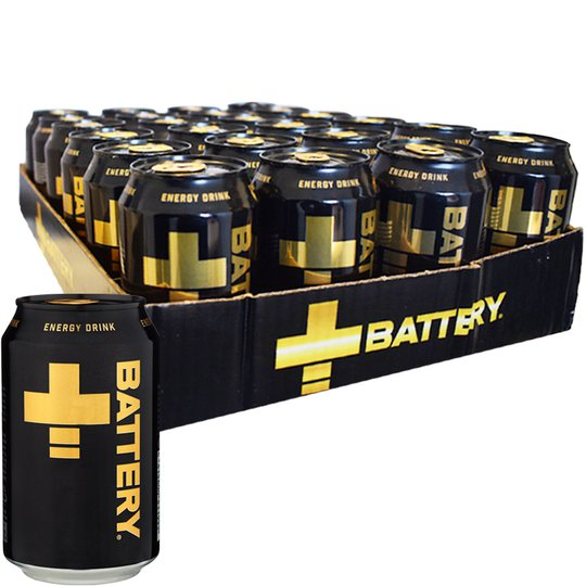 Energidryck Battery 24-pack - 20% rabatt