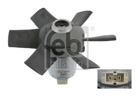 Tuuletin (moottorijäähdytys) FEBI BILSTEIN 06997