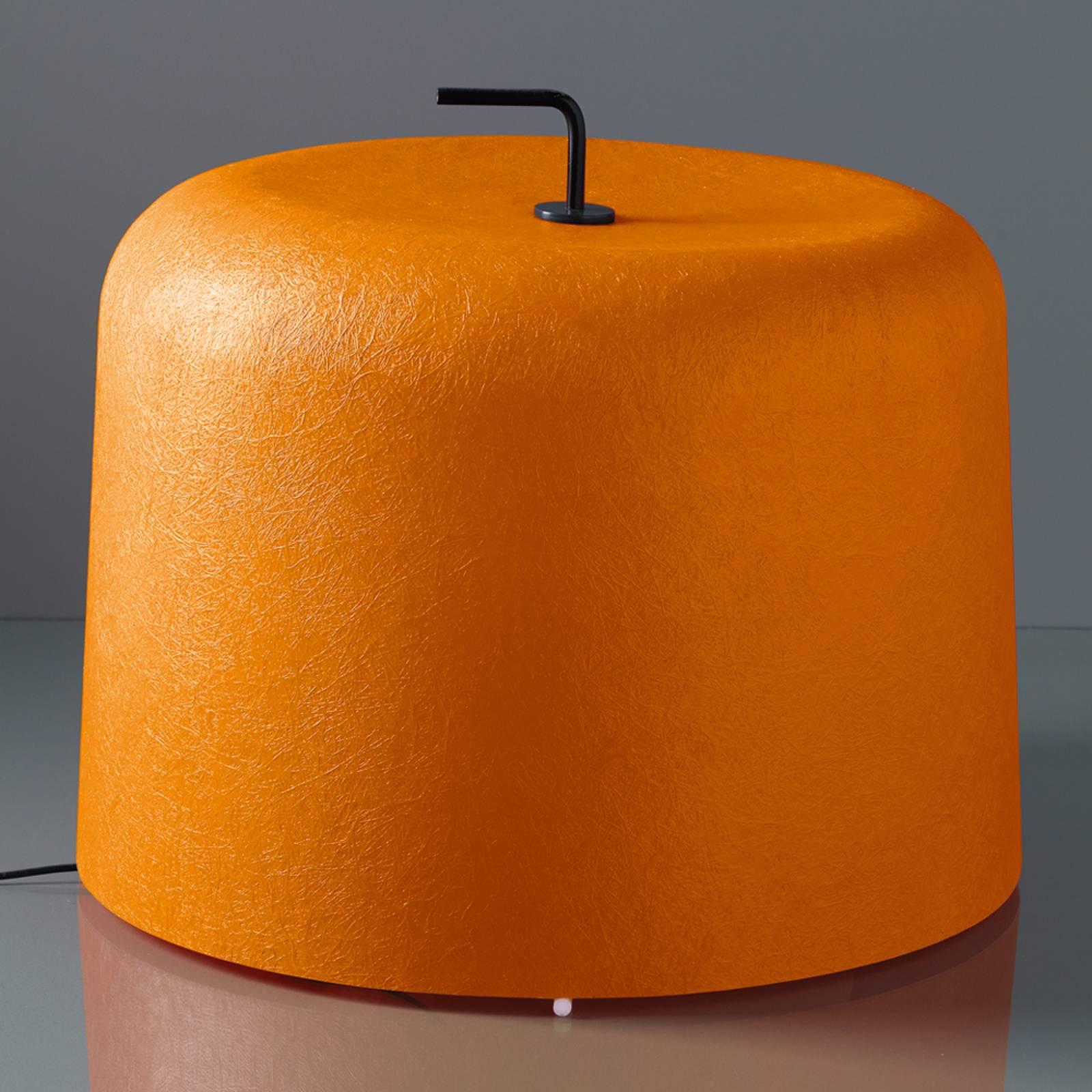 Lattiavalo Ola Move, oranssi lasikuituvarjostin