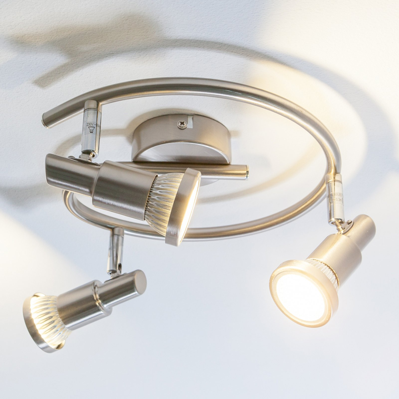 LED-takrondell Aron, GU10