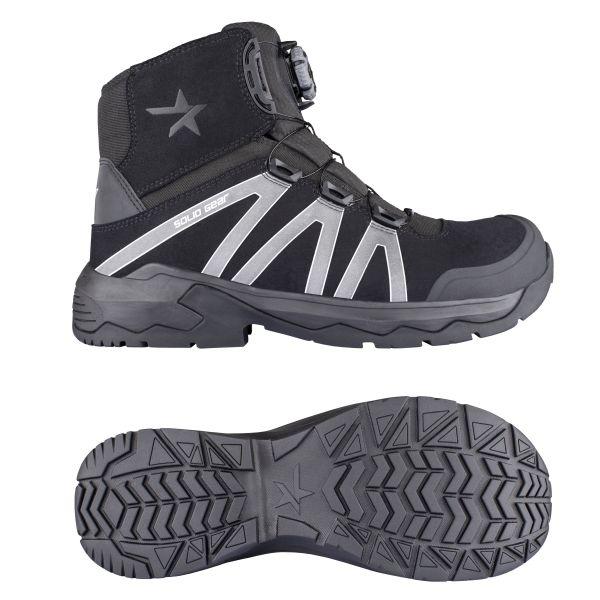 Solid Gear Onyx Vernestøvler S3, BOA, svart 36