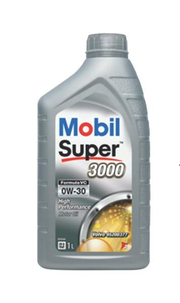 Moottoriöljy MOBIL 0W30 SUPER 3000 FORMULA VC 1L