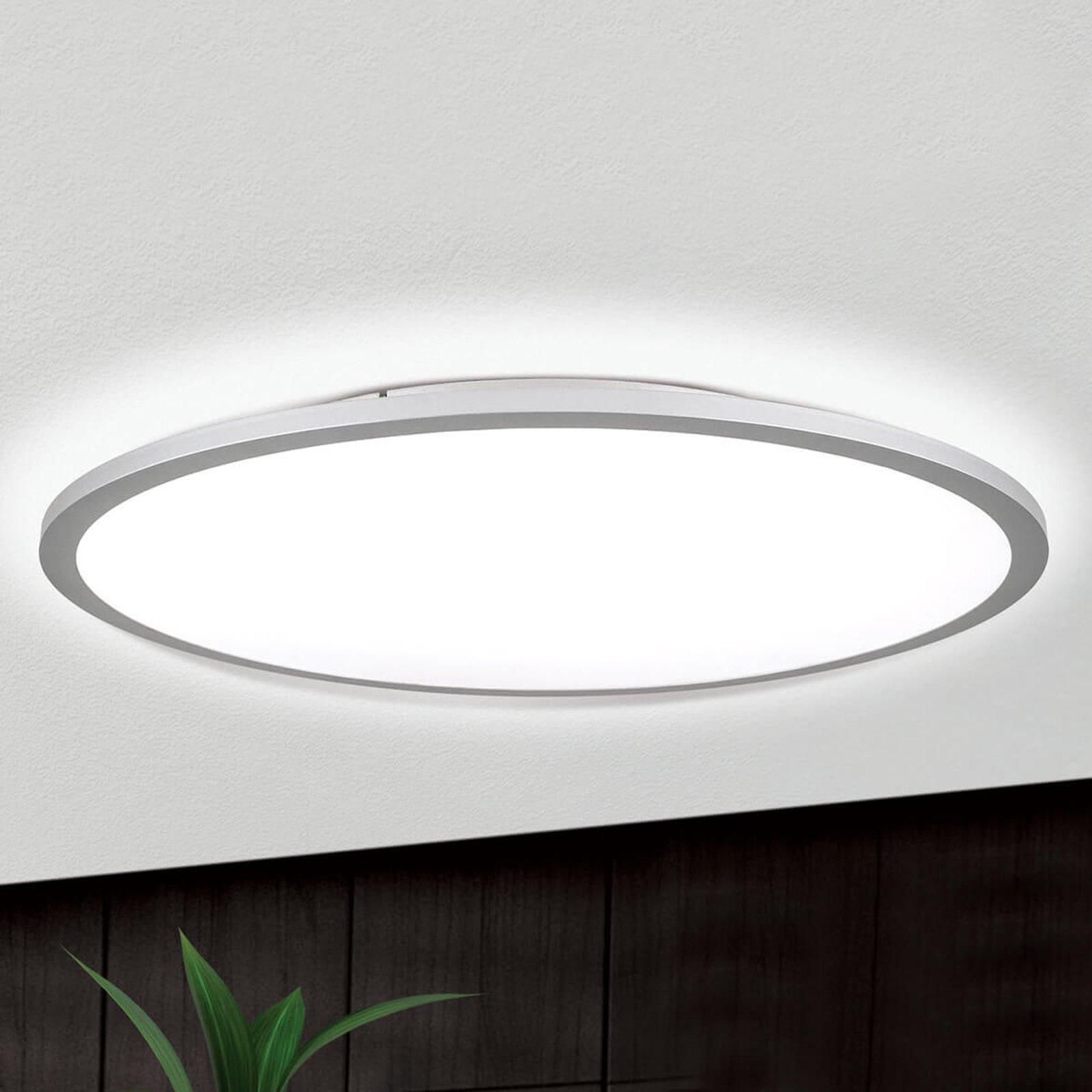 Titanfarget LED-taklampe Aria, dimbar - 60 cm