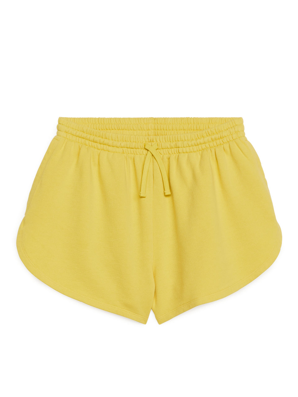 French Terry Shorts - Yellow