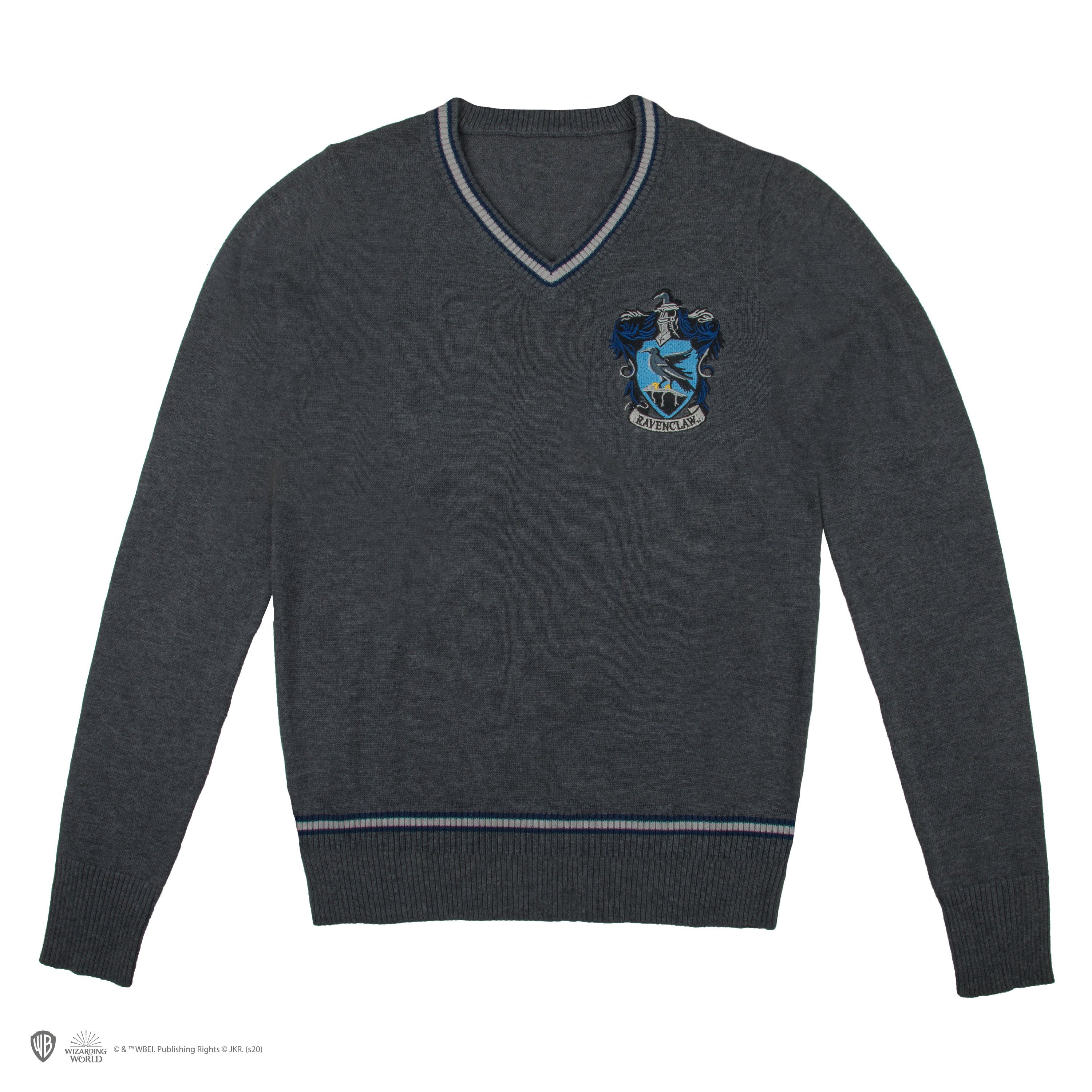 Harry Potter - Ravenclaw - Grey Knitted Sweater - X-Small