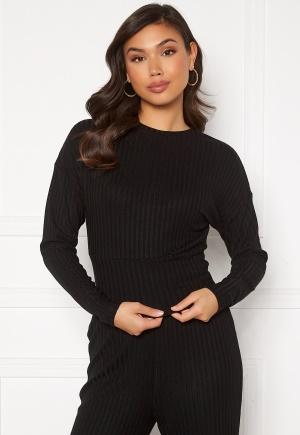 ONLY Dina L/S O-Neck Top Black XL