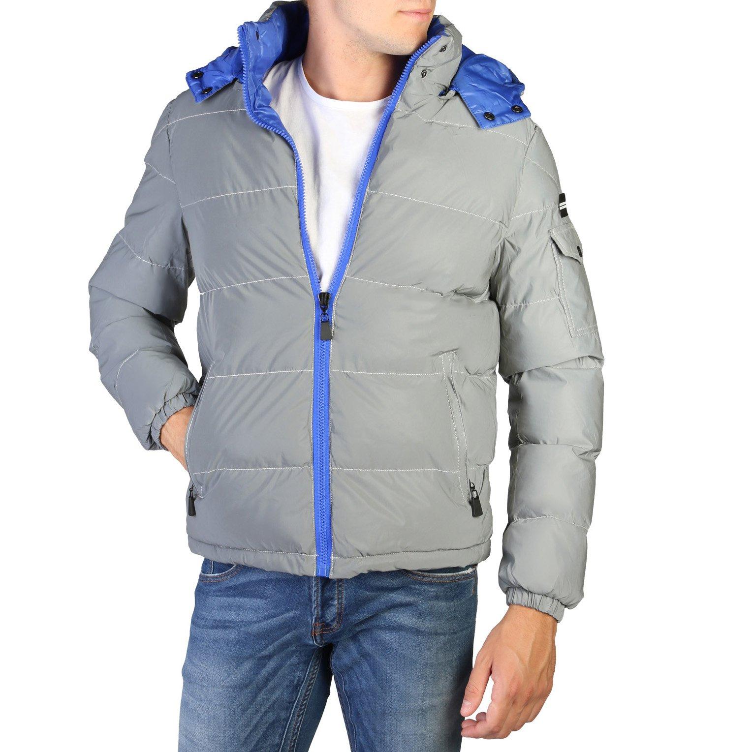 Alessandro Dell'Acqua Men's Jacket Grey 348293 - grey-1 L