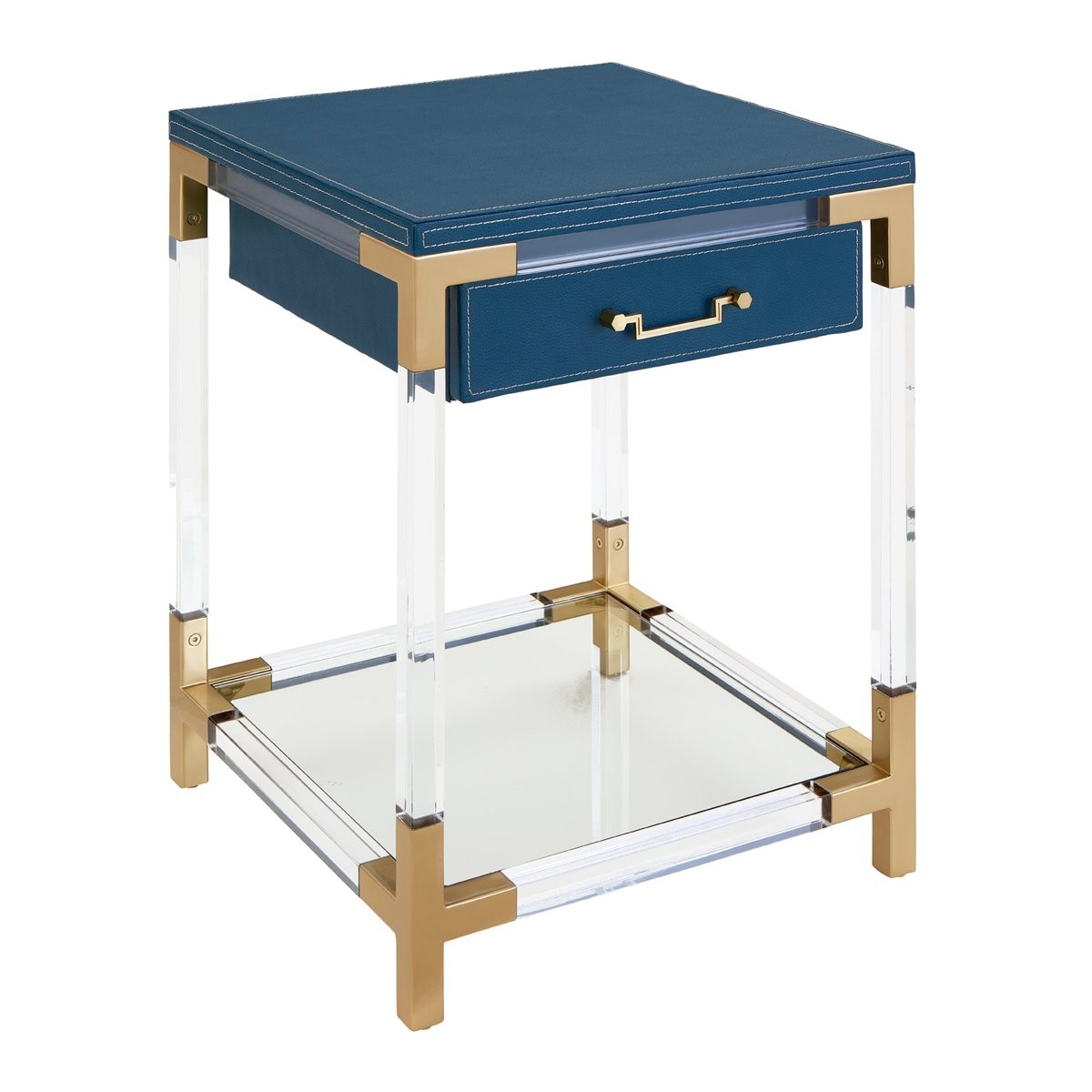 Jonathan Adler I Jacques 2 Tier Table With Drawer