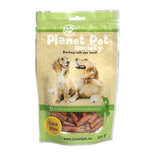 Planet Pet Dog Tonfiskbitar