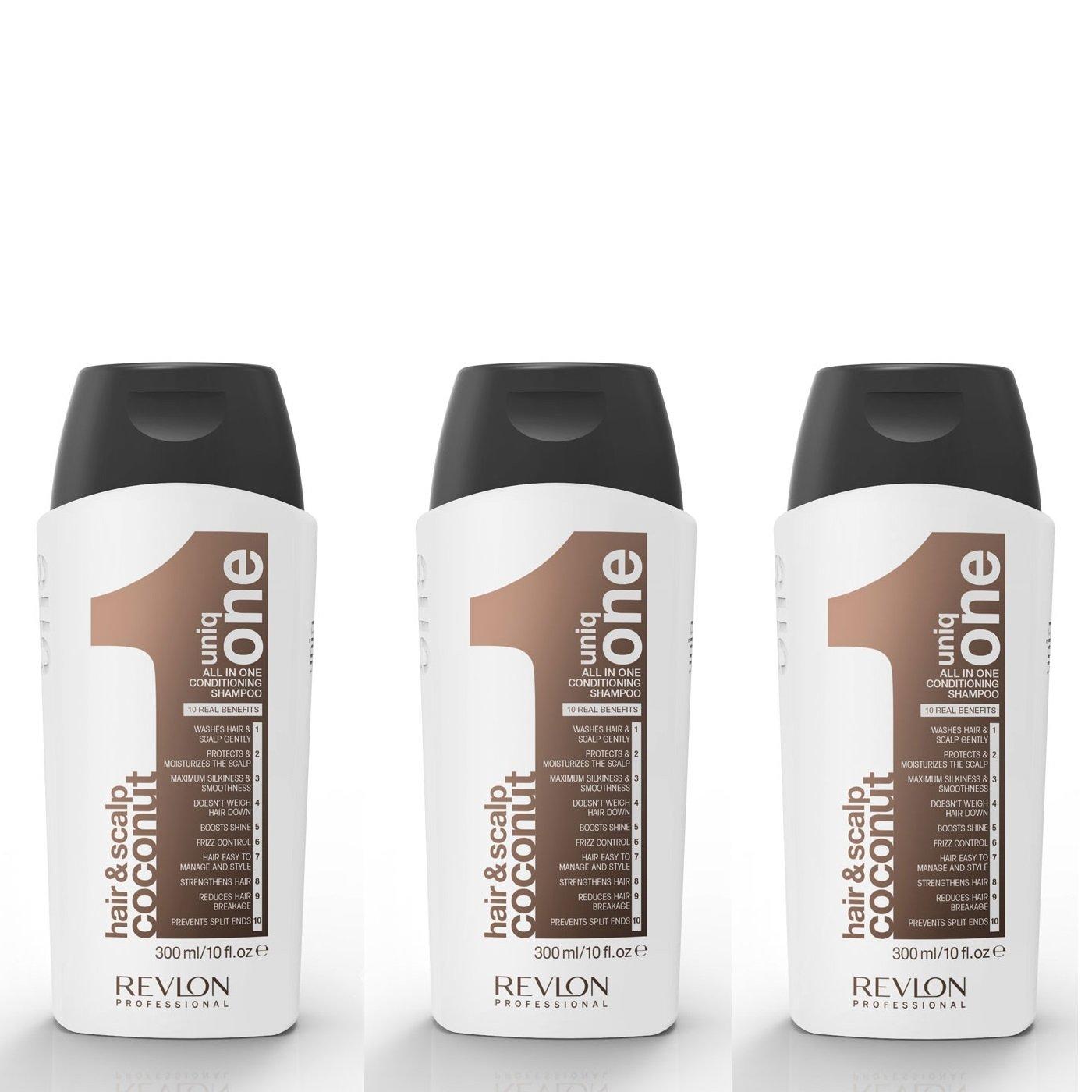 Uniq One - 3x All in One COCONUT Conditioning Shampoo 300 ml