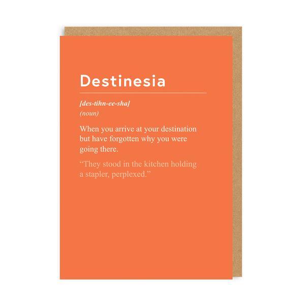 Destinesia Greeting Card