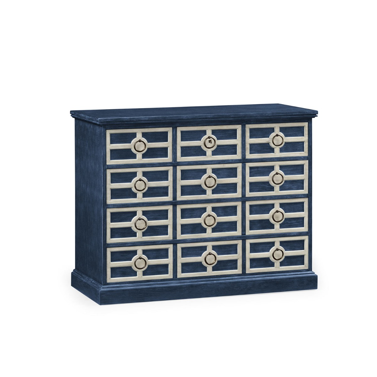 William Yeoward | Midmoor Chest Of Drawers Blue Painted