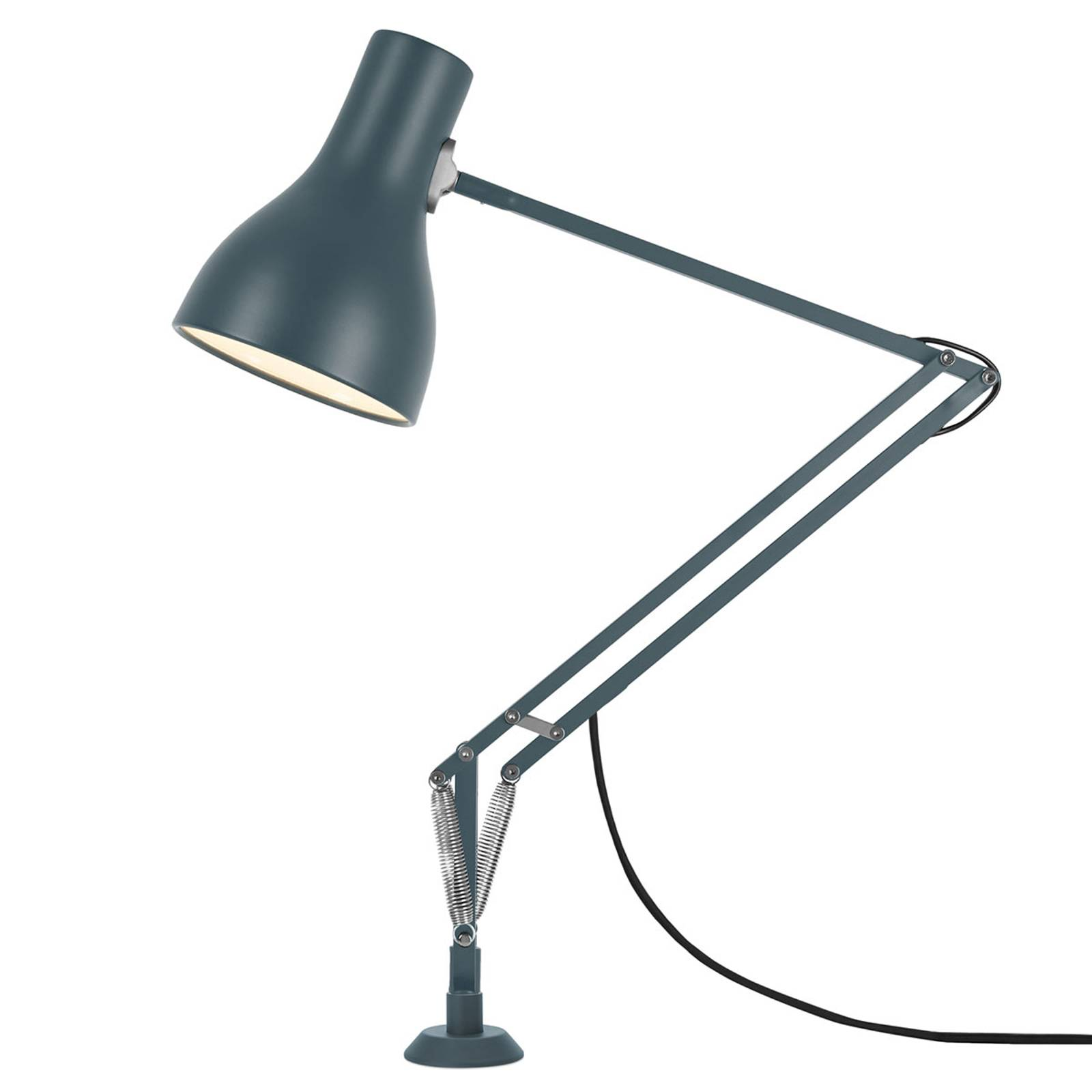 Anglepoise Type 75 -pöytälamppu, ruuvijalka