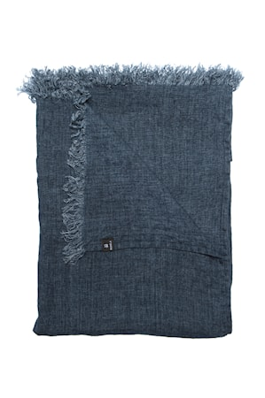 Pläd Levelin 140x240 cm - Blå