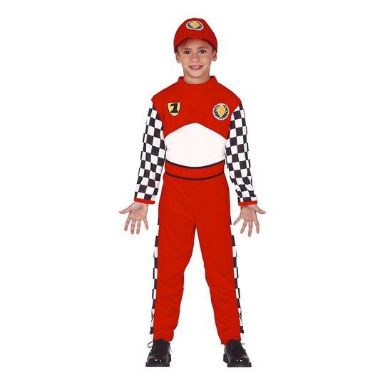 Racingförare Barn Maskeraddräkt - Small