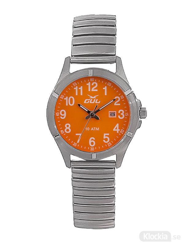 GUL Surf Flex Orange 525021010 - Barnklocka