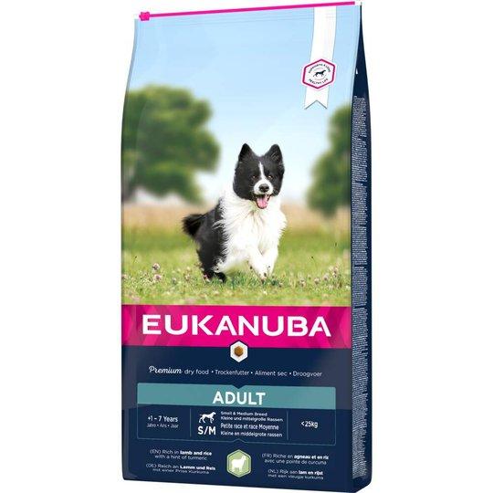 Eukanuba Dog Adult Small & Medium Breed Lamb & Rice (12 kg)