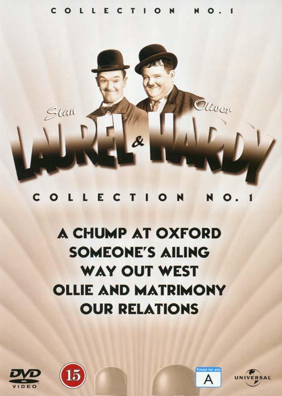 Laurel & Hardy Vol 1-5 (Rwk 2012) - DVD