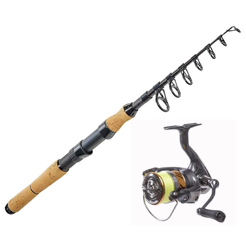 DAM Shadow Minitele/Daiwa Laguna LT JB4 Perfekt fiskesett til sjøfiske